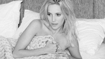 Luisana Lopilato sorprendió con una producción de fotos en la cama