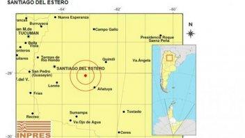 Un fuerte sismo sacudió Santiago del Estero