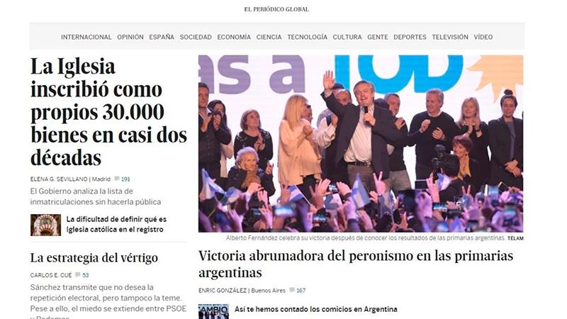 El País de España.