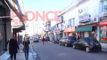 Comerciantes afectados por el paro de colectivos urbanos: