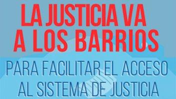 La Justicia va a los barrios: recibirán consultas y denuncias en escuela N°19