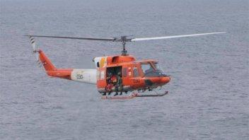 Hallaron el cuerpo del instructor de parapente que cayó al mar en pleno vuelo