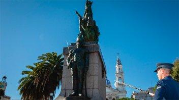 Acto por el 169º Aniversario del paso a la inmortalidad del General San Martín