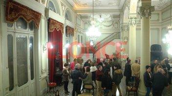 Inauguraron Salón Foyer del Teatro: Lleva el nombre de