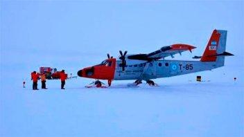Avión de la Fuerza Aérea Argentina aterrizó de emergencia en la Antártida