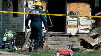 Bombero perdió a sus cuatro hijos en incendio cuando respondía una falsa alarma