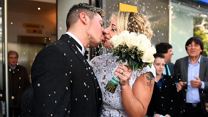 El casamiento de Mónica Farro