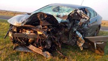 Tres fallecidos tras choque en Ruta 12: Regresaban de un encuentro de robótica