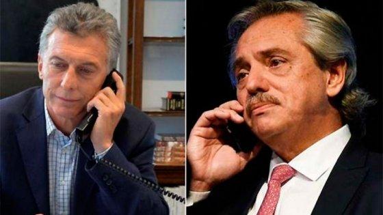 Macri se comunicó con Alberto Fernández y hablaron de la inestabilidad cambiaria
