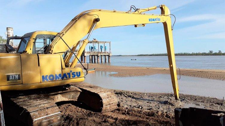 Algunos barrios afectados por baja presión de agua: Trabajan en la Toma Nueva