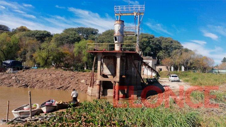 Por la tarde se normalizará la provisión de agua tras inconvenientes en la Toma