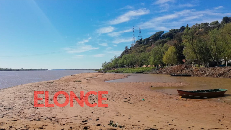 Fotos: El río Paraná registra el nivel más bajo en 6 meses y seguirá en descenso