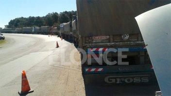 Interceptaron seis camiones con hasta 90 toneladas de carga sin declarar
