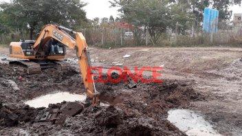 Corte de agua por rotura de gran conducto: La reparación demandará 10 horas