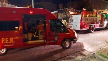 Un hombre falleció en el incendio de una vivienda ubicada en Barrio Paraná XX