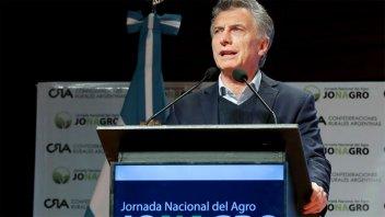 Macri destacó el rol del campo como
