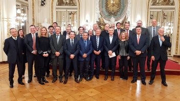 Macri recibió a empresarios automotrices que apoyaron nuevo acuerdo con Brasil