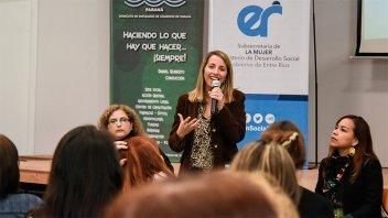 El gobierno provincial valora la participación de la mujer en espacios gremiales