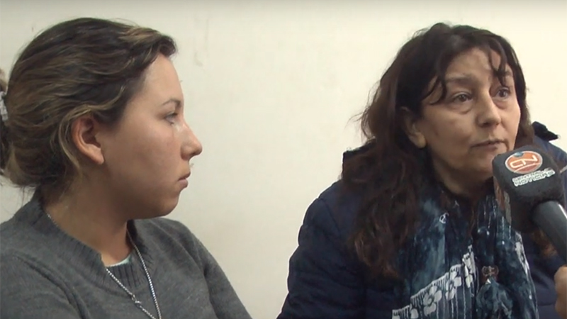 Familiares de la agente de policía en diálogo con CN