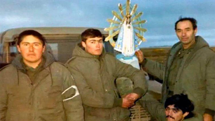 Regresará al país una imagen de la Virgen de Luján que estuvo en Malvinas