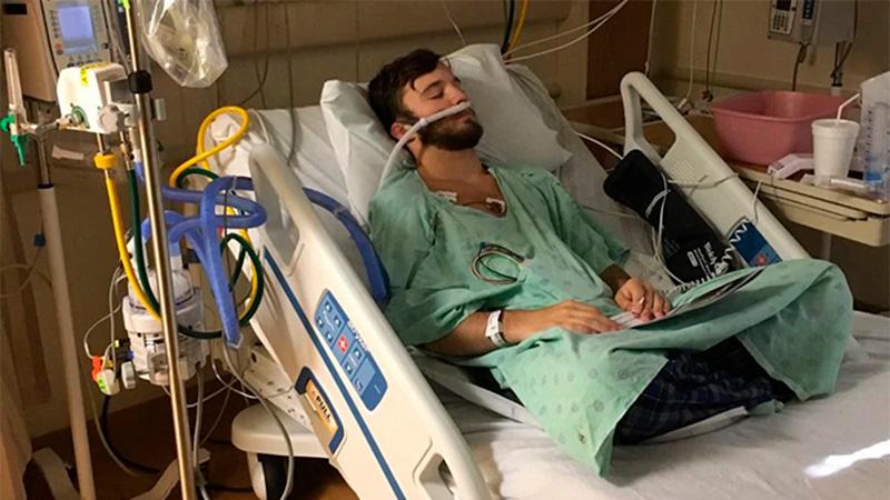 Joven de 18 años tenía ¡pulmones de anciano! por vapear diario
