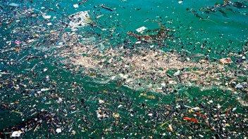 Isla de basura en medio del océano: los plásticos son el 99,9% de los desechos