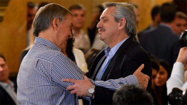 Fernández y Schiaretti se reunieron en la misa en homenaje a De la Sota