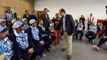 Bordet ratificó continuidad de programas de apoyo a deportistas entrerrianos