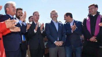 Pichetto y Frigerio visitaron San Luis,