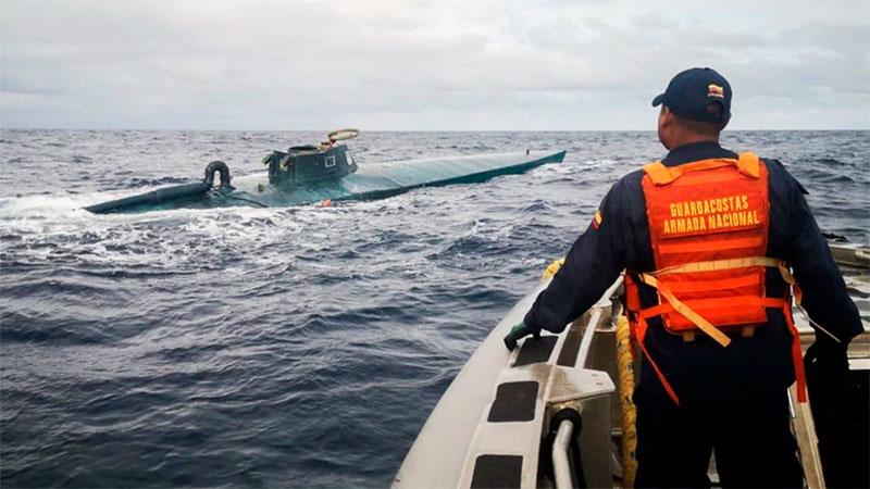 Cartagena: Incautan ocho toneladas de cocaína en semisumergible | EL UNIVERSAL