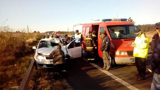Identificaron al conductor que murió tras chocar un caballo en la ex Ruta 14