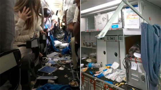 Ocho pasajeros heridos por turbulencia en un vuelo de Aerolíneas Argentinas