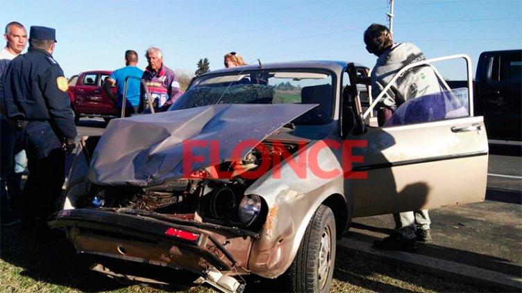 Dos accidentes en el Acceso Norte tras la desconcentración de fanáticos del TC