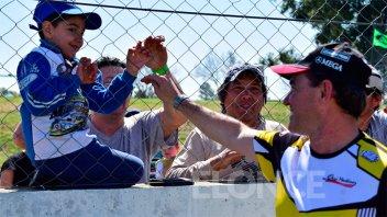 Autódromo repleto: Así se vivió la despedida del Gurí Martínez y el TC en Paraná