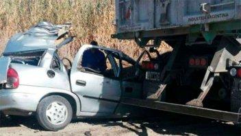 Es entrerriano el camionero que protagonizó fatal accidente en Mendoza