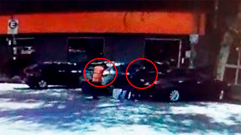 Paranaense fue víctima de cuantioso robo en Córdoba: ladrones quedaron filmados
