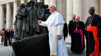 Francisco criticó el mundo