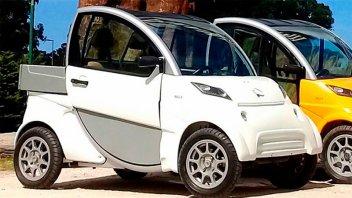 Ya se vende el primer auto eléctrico argentino: Hace 100 km con $60