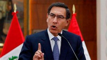 El presidente de Perú disolvió el Congreso y convocó a elecciones anticipadas