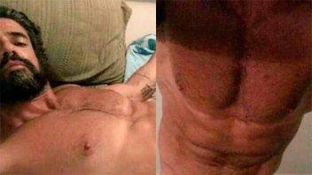 El lamento de Luciano Castro tras la difusión de sus fotos desnudo