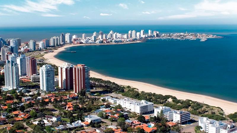 Punta del Este, el destino por excelencia del turismo en verano.