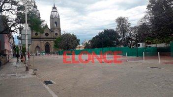 Habilitaron el tránsito vehicular en un tramo de calle Buenos Aires