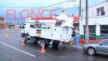 Repararon un cable y se reestableció el servicio de energía en la zona sur