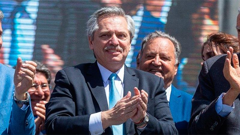 Alberto Fernández refuerza campaña a la uruguaya | Alberto Fernández, deuda externa, Uruguay