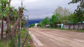 Ampliaron la zona de alerta por tormentas: Cayó granizo en el sur de Entre Ríos
