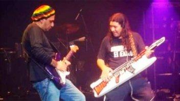 Murió Richard, guitarrista de Damas Gratis: El dolor de Pablo Lescano
