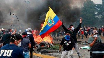 El presidente de Ecuador declaró
