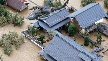 Al menos 18 muertos y 13 desaparecidos en Japón por el paso del tifón Hagibis