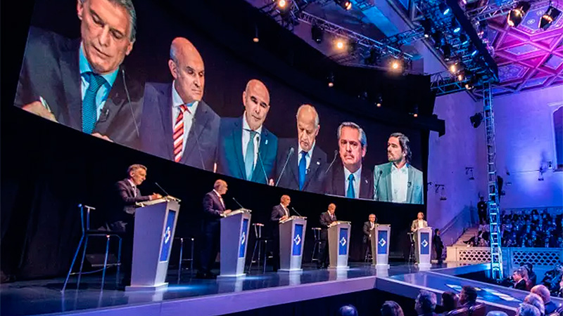 Segundo debate presidencial: Los cruces volverán a centrarse en Macri-Fernández