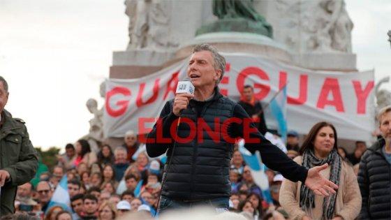 Macri en Paraná: